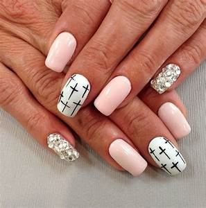 Cross nail art | Nailed it | Pinterest | Nails, Cross Nail ...