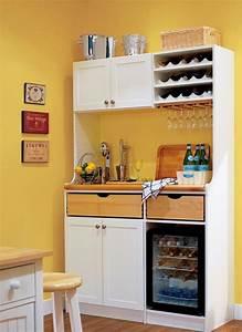 idee rangement petite cuisine 4 cuisine dans un placard With rangement pour petite cuisine