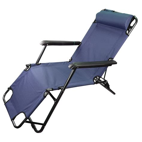 heavy duty textoline gravity garden sun lounger recliner