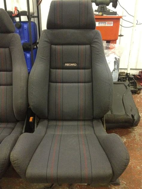 interior parts mk golf recaro seats sold rms