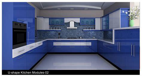 small kitchen interior design ideas small u shaped glossy acrylic laminate kitchen cabinets