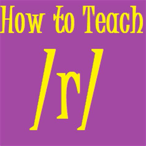 How To Teach The R Sound With Christine Ristuccia  Speech And Language Kids
