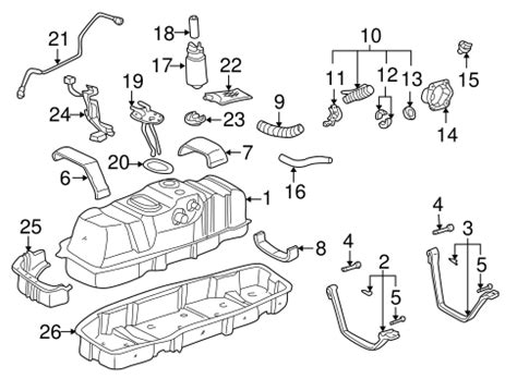 Genuine Oem Fuel System Components Parts For Toyota