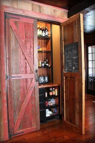 Pantry  Hinged Barn Doors Barndominium Floor Plans