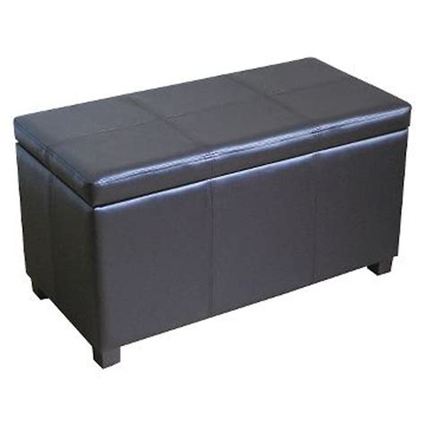 Target Leather Storage Ottoman by Storage Ottoman Ottomans Benches Target