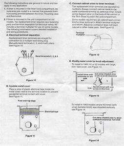Paragon Defrost Timer Instructions