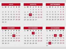 El calendario laboral de 2018 recoge 13 día festivos El