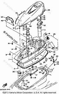 Yamaha Waverunner 1993 Oem Parts Diagram For Engine Hatch
