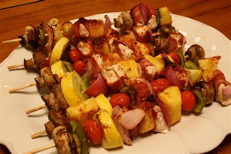 kebab recipe of cake recipes oven baked chicken bacon shish kebabs