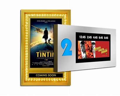 Theater Displays Display Graphic Poster Industries Bass