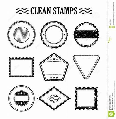Postage Stamp Ink Mail Rubber Delivery Vector