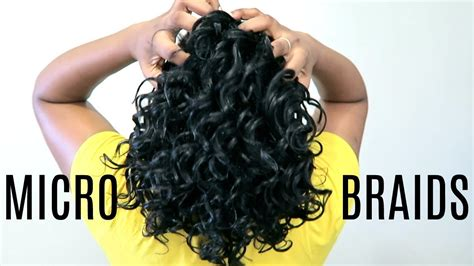 How To Install Micro Braids Ft. Freetress Crochet Braids