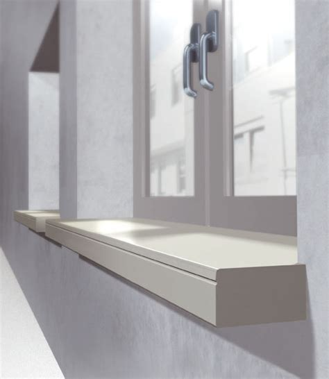 Modern Window Sill by Compact Drop Nose System Window Sill