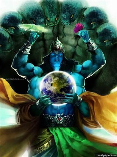 Vishnu Lord Krishna God 1080p Wallpapers Hindu