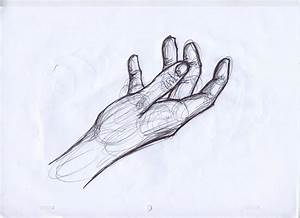 Drawn pen hand drawing - Pencil and in color drawn pen ...