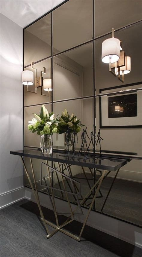 Accent Mirrors Entryway - and creative ideas of wall mirrors in the hallway