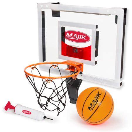 the door basketball hoop majik the door mini hoop with electronic scoring
