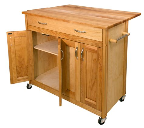 kitchen island cart drop leaf catskill mid sized kitchen island cart w drop leaf 8151