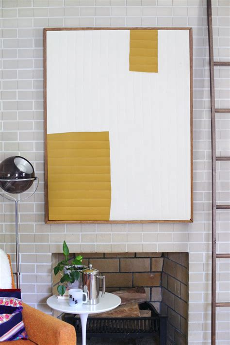 Decoration Simple Diy Modern Art To Change Your