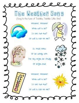 the weather song by mrs craner s classroom teachers pay 276 | original 1056130 1