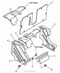 Simplicity 1692584  25  8hp Parts Diagram For Housing Group