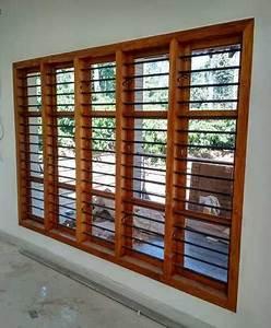 Wooden Window Frames at Rs 250/running feet | लकड़ी की ...
