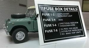 Land Rover Series 3 Bl Steering Column Fuse Box Details