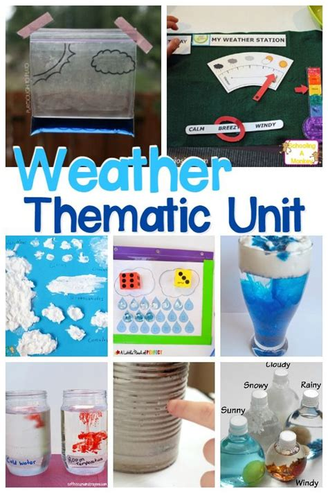 stem focused weather thematic unit perfect  spring