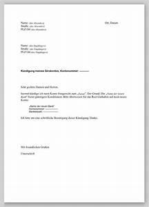 Bausparvertrag Kündigen Sparkasse : schriftlich ein konto bei der bank k ndigen muster ~ Orissabook.com Haus und Dekorationen