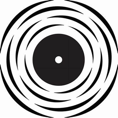 Vinyl Vector Clipart Cliparts Target Record Clip