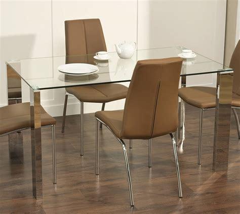 modern glass dining table buungi