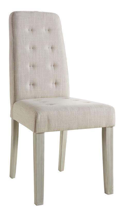 lot de chaise salle a manger chaise de salle à manger contemporaine en tissu beige lot