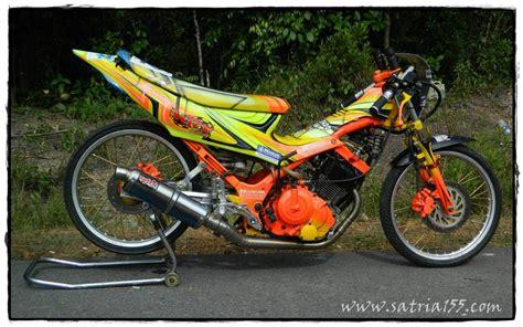 Modifikasi Motor Satria by Modif Warna Satria 2 Tak Images
