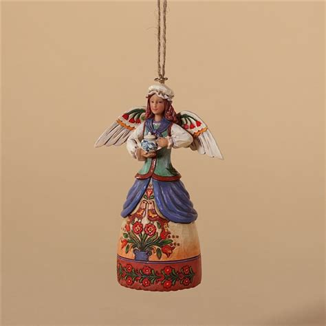 heartwood creek colonial williamsburg angel ornament by
