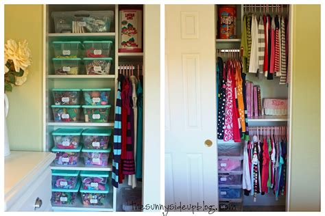organized closet drawers the side up