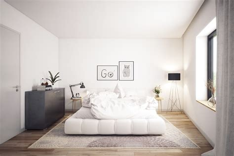 White Bedrooms That Exude Calmness