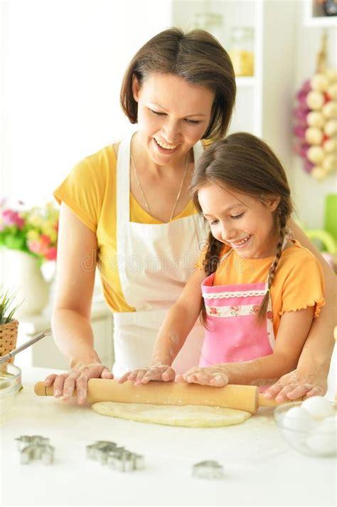 Mom Step Daughter Kitchen