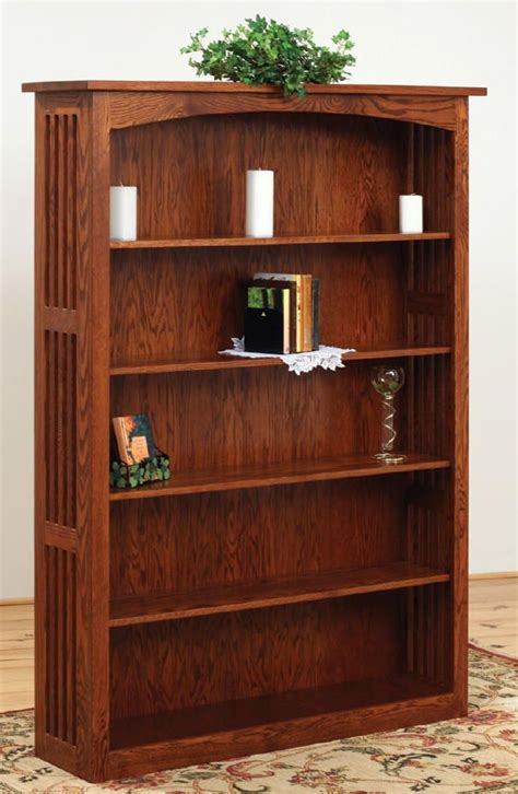 craftsman style bookcase plans woodworking projects plans