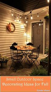 Condo, Blues, How, To, Decorate, A, Small, Patio, For, Fall