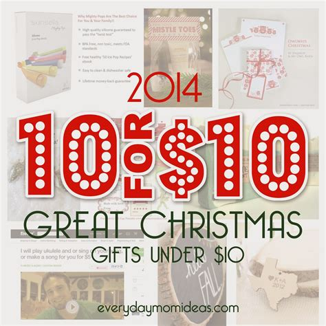10 unique christmas gifts under 10 2014 gift guide