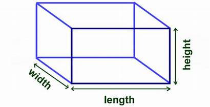 Volume Box Cube Math Finding Dimensions Length