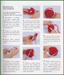 Faire Un Pompon Avec De La Laine : technique du pompon de laine ~ Zukunftsfamilie.com Idées de Décoration