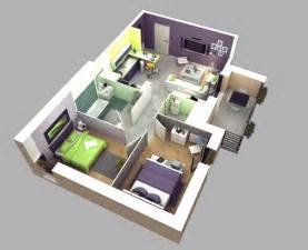small two bedroom house plans 50 3d floor plans lay out designs for 2 bedroom house or apartment