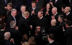 John Roberts Photos Photos - Donald Trump Delivers Address ...