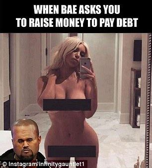 Meme Naked - check out these hilarious memes of kim kardashian s racy nude selfie
