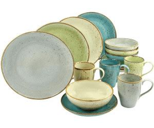 geschirr set bunt creatable kombiservice 16 teilig nature collection bunt ab 72 99 juli 2019 preise