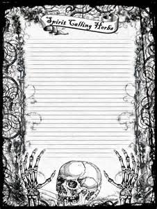 Wiccan Bos Blank Printables