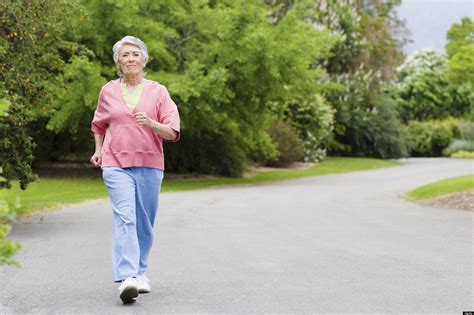 Walking And Jogging For The Elderly People