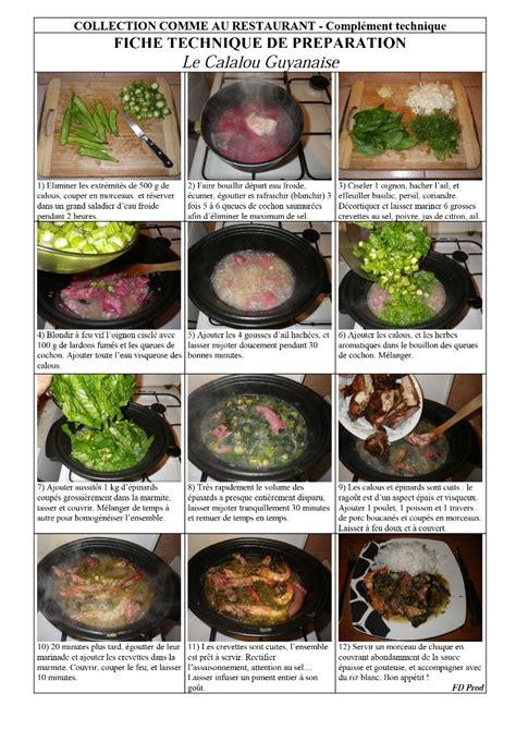 cuisine guyanaise recette calalou guyanaise restoclasse