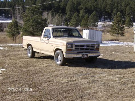 buy used 1983 ford f 150 base standard ford f 150 standard cab pickup 1983 tan for sale 1ftdf15y1dra17511 1983 ford f 150 base